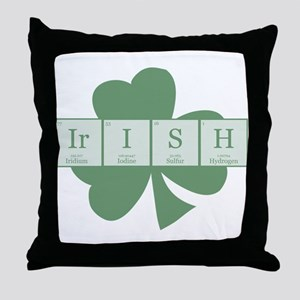 Irish [elements] Throw Pillow